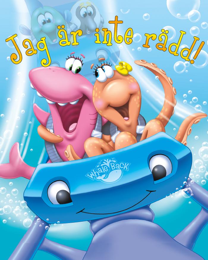 """Barnboksserien """"Äventyr i havets djup"""" av Lee Ann Mancini!"""